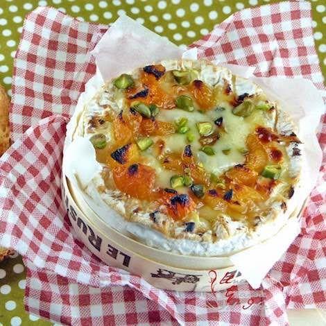 Recette : Camembert rôti aux abricots - Recette au fromage