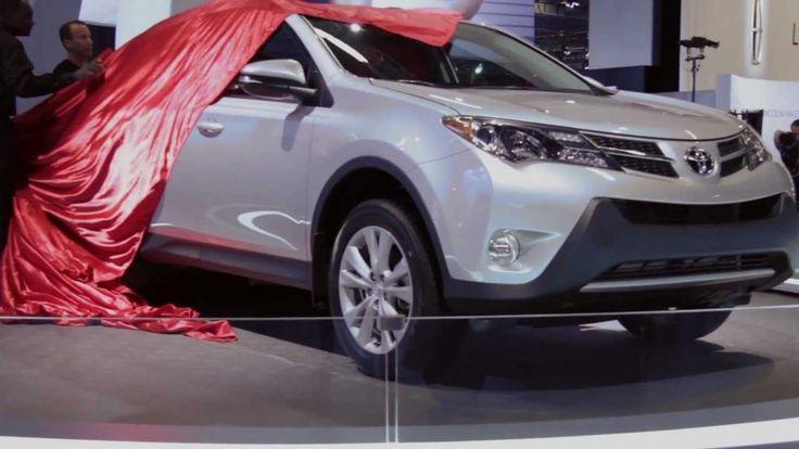 Canadian debut for all-new 2013 Toyota RAV4