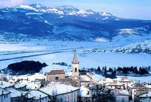 Going skiing in Pescocostanzo, Italy, where my great-grandparents are from