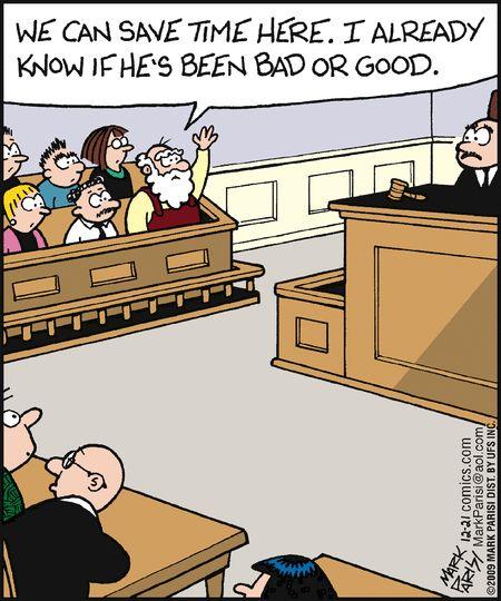 Santa on jury duty | Off the Mark (2009-12-21) via Focused Distortion