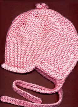 Шапочка для ребенка дошкольного возраста связанная спицами от макушки - Вязание - Страна Мам