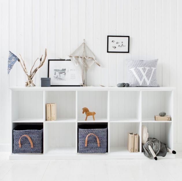Styling for Oliver Furniture cabinet 5 section Nordisk Rum by Pernille Grønkjær Taatø www.blog .nordiskrum.dk  Cameretta per due in stile nordico
