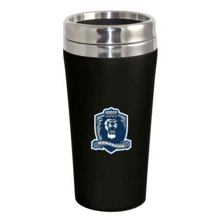 Old Dominion University Lions Double Walled Travel Tumbler, Black