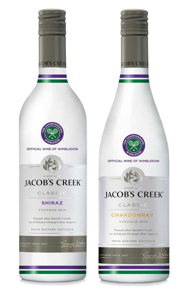 Jacob's Creek unveils tennis-inspired bottles for Wimbledon