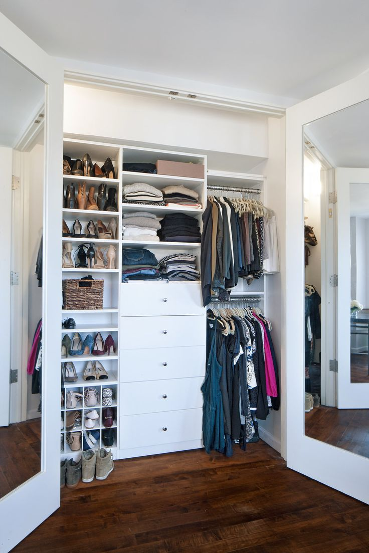 25 best ideas about california closets on pinterest neutral waredrobes contemporary closet - Closet storage ideas small spaces model ...