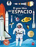 Un libro sobre el espacio con más de 40 animaciones para descubrir cómo es el equipo de un astronauta y cómo despegan los cohetes, explorar la Estación Espacial Internacional y el planeta Marte, admirar la Tierra en 3D, ver girar nuestras galaxia... http://rabel.jcyl.es/cgi-bin/abnetopac?SUBC=BPSO&ACC=DOSEARCH&xsqf99=1881438