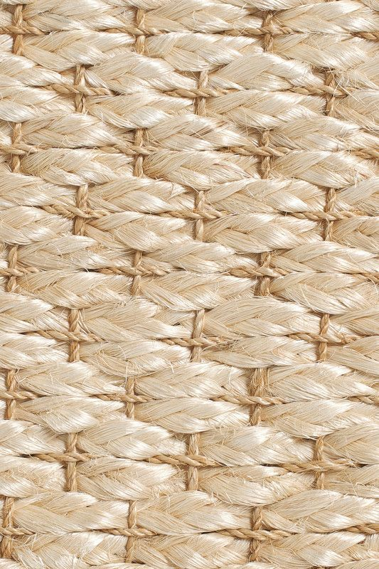 Sand handwoven abaca rug, by Merida.