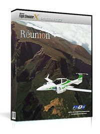 AEROSOFT : Reunion Located in the Indian Ocean, 750km off the coast of Madagascar and only a 30 minutes flight away from Mauritius, Reunion has everything a pilot can wish for: Active volcanoes, high mountains with deep cut-in valleys, several airports, challenging weather situations and a huge number of points of interest. FSDG-Reunion includes the whole island with custom mesh, autogen, night lighting, landmarks and a lot more, plus the airports of Roland-Garros, Pierrefonds and several…