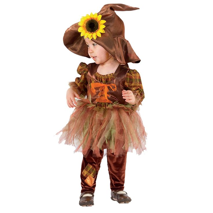 Baby Girl Halloween Costumes | ... for the full Baby & Toddler Girls Scarecrow Halloween Costume review