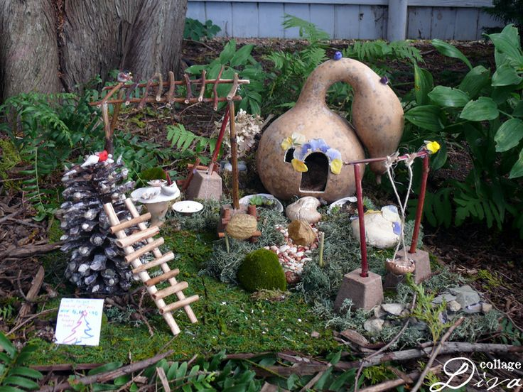 14 Best Images About Fairy Houses And Gardens On Pinterest