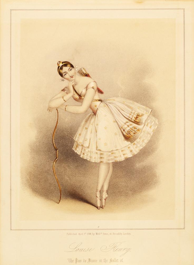 картинки для декупажа балерины винтаж закроет вьюги замок