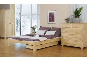 Small Double Size  Bed Frame UK Size - ''F5""