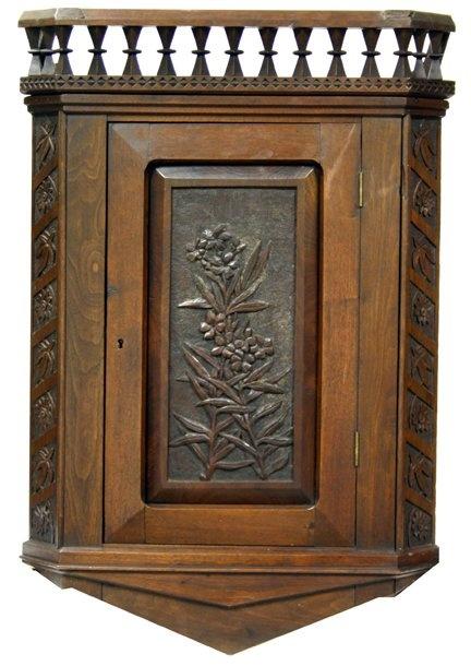 Cincinnati Art Carved Corner Cabinet, ca. 1880 - 70 Best Cincinnati Art Carved Furniture Images On Pinterest