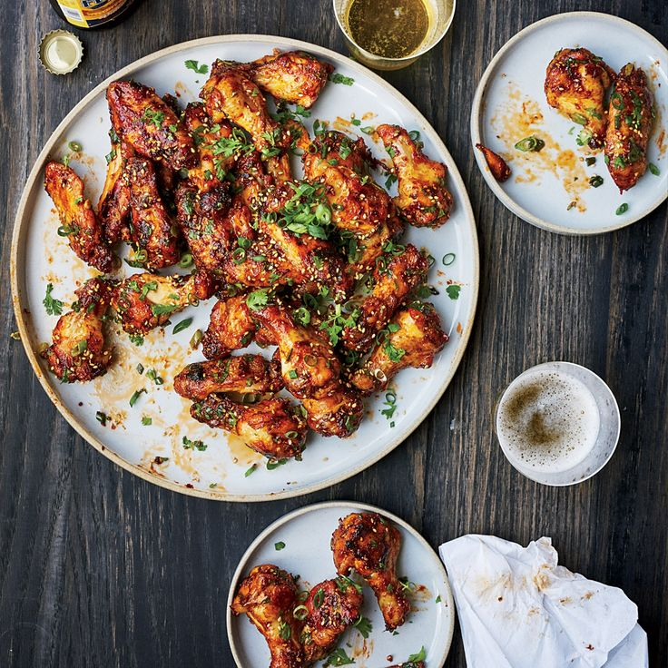 Sticky Baked Chicken Wings | Food & Wine