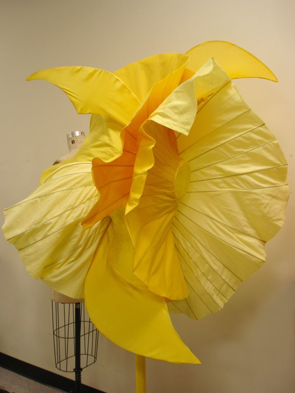 Draping Assignment for the Gardens of the Magnificent Mile, Solaris, Instructor Beata Kania