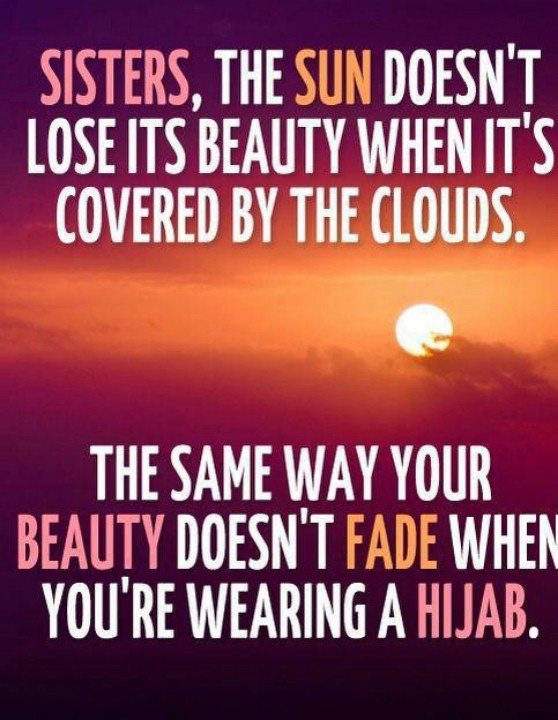 Sisters/ Sun/Beauty/Fade/Hijab