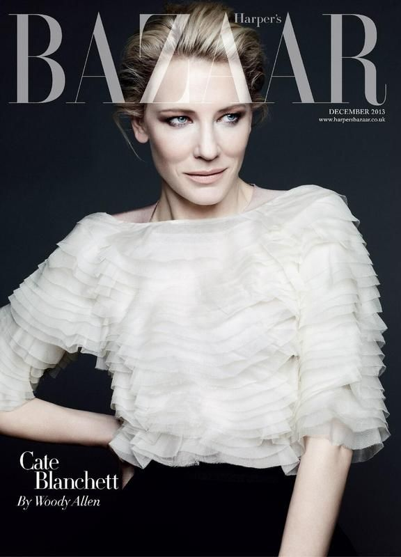 Cate Blanchett by Ben Hassett for Harper's Bazaar UK Dec 2013