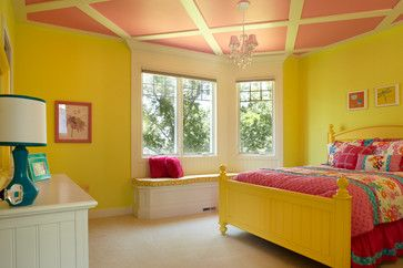 Pink Bed Design Ideas, Pictures, Remodel and Decor