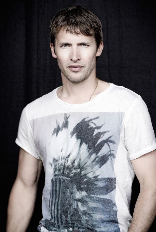 "JAMES BLUNT - new album ""Moon Landing"" coming out in October.  I can hardly wait!"
