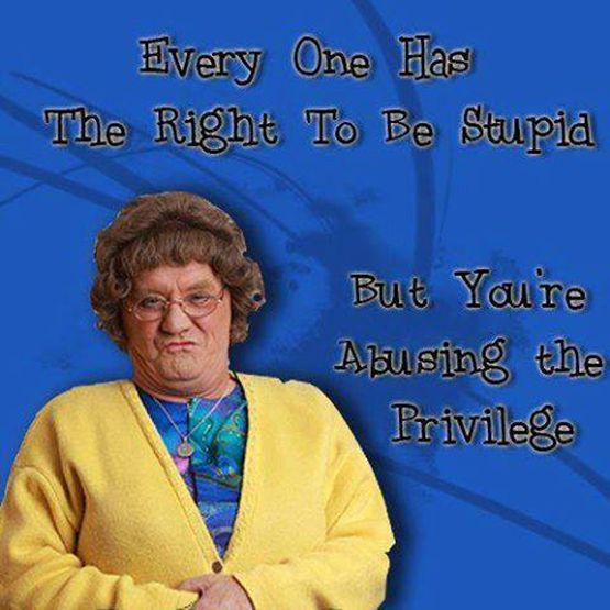 Mrs Brown tells you straight '~)