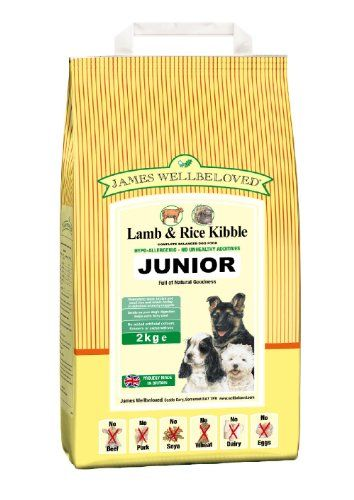 James Wellbeloved James Wellbeloved Junior Lamb And Rice Kibble 2 Kg ** Read more  at the image link. (Note:Amazon affiliate link)