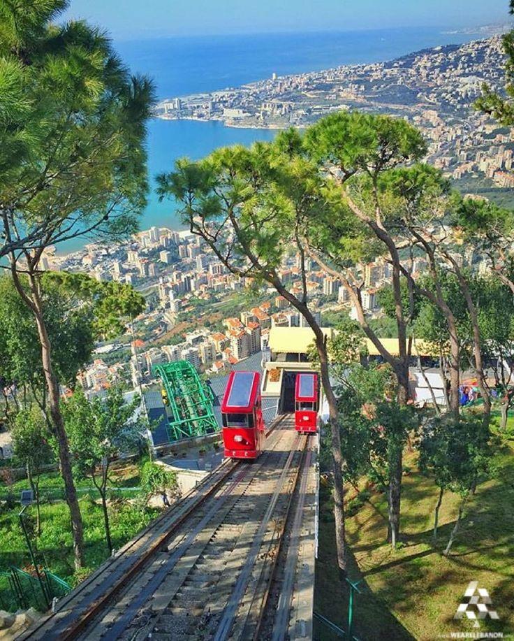 A stunning view of #Jounieh, Good Morning! By @youssharfouch #WeAreLebanon  #Lebanon