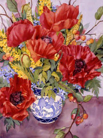 Multi-Wear Wrap - Flowers illustration S4 by VIDA VIDA fT78znB