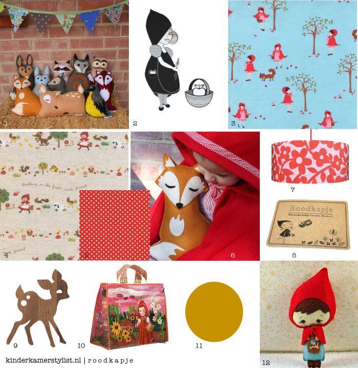 sprookjeskamer | roodkapje | little red riding hood