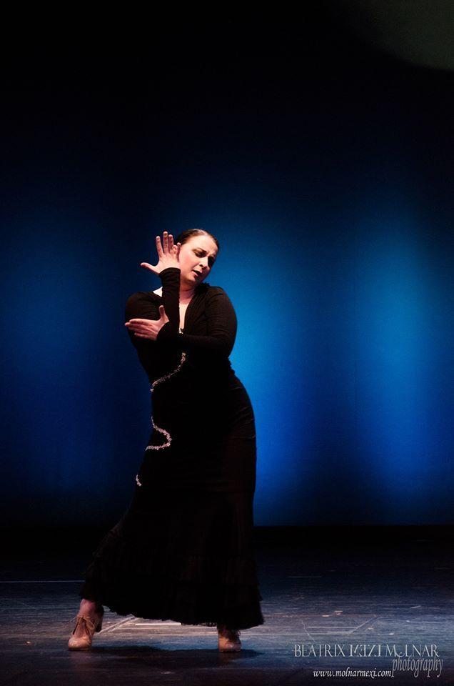 Flamenco dance performance - Prague 2014