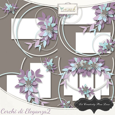 *** NEW ***  Cerchi di Eleganza 2 by Let Creativity Run Loose  http://www.myscrapartdigital.com/shop/index.php?main_page=product_info=24_97_id=1826