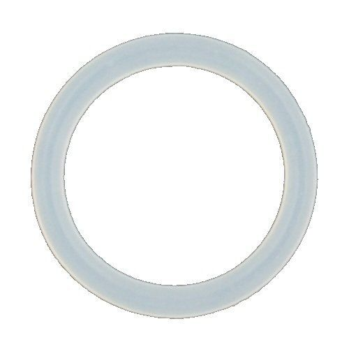 One Clear Silicone O-Ring: 8g (SOLD INDIVIDUALLY. ORDER TWO FOR A PAIR.) Industrial Strength. $0.62