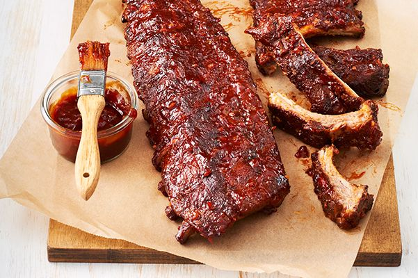 Canada's Ultimate Barbecue-Smoked Ribs—Saucy spice-rubbed ribs are smoked for an added layer of flavour. Look for wood smoking chips, such as apple or hickory, in the barbecue section of the grocery or hardware store. Be sure to check that your chips are food-safe before grilling.