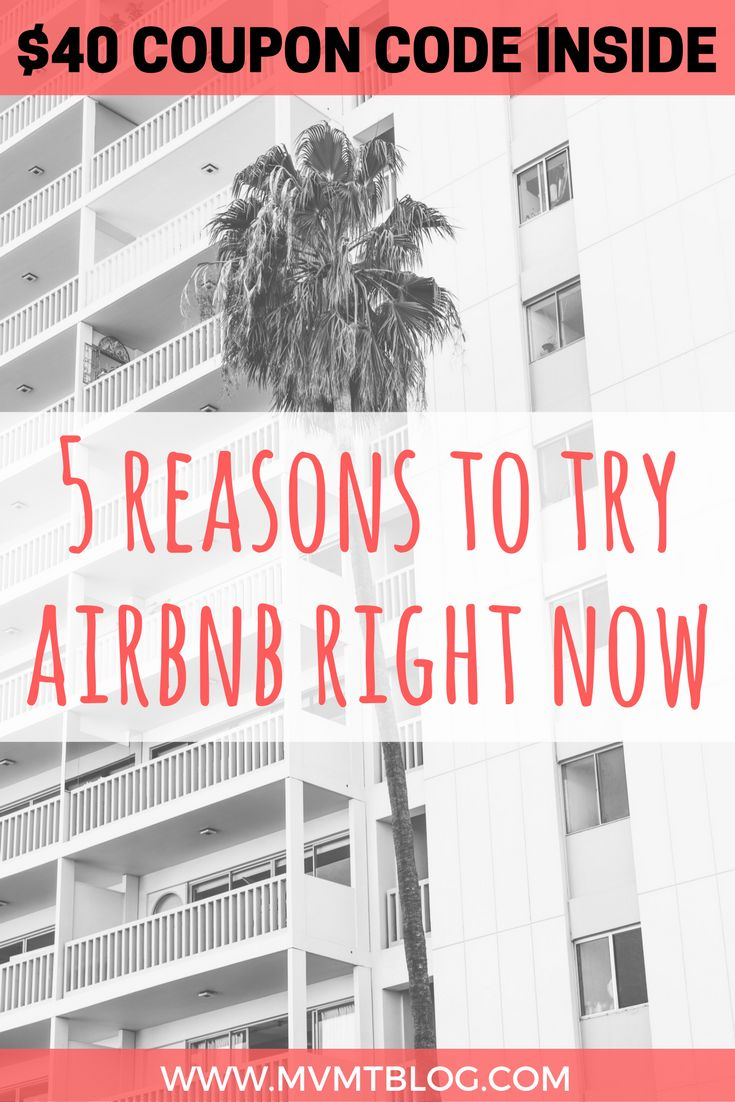 Even though Airbnb has been around for a while, many are still hesitant to try it due to concerns with safety, cleanliness, and the overall experience of staying in someone else's apartment. As someone who's stayed in many Airbnb properties and has had positive experiences with all, I cannot recommend Airbnb more highly. BUT - it's not for everyone, so click through to find out my top 5 reasons to try Airbnb, and I've even got a $40 coupon code for you!