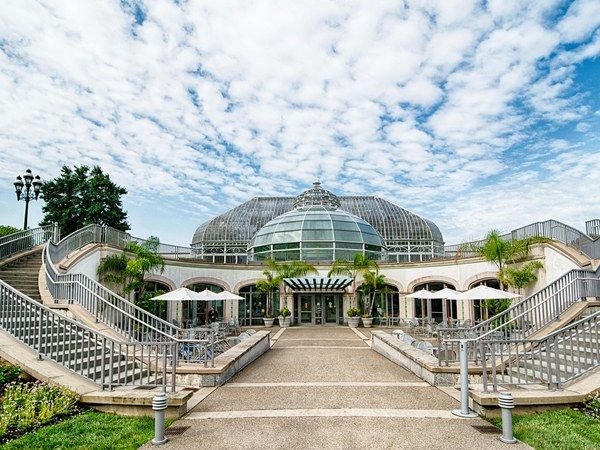 Gifted to the city of Pittsburgh in 1893, the Phipps Conservatory and Botanical Garden is today registered as a National Historic Place. It's not just what's within this 13-room conservatory that's green, though: The complex and its buildings have received a number of top sustainability designations, including LEED Silver and Platinum certifications.