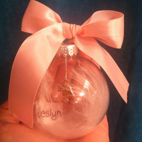 Angel Baby Memorial Ornament Pregnancy And Infant Loss on Etsy, $14.00