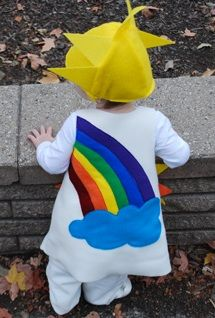 sunshine and rainbow halloween free costume sewing pattern for babies toddlers and kids costume idea hart here ya go this is what rowan and lenon can - Free Halloween Costume