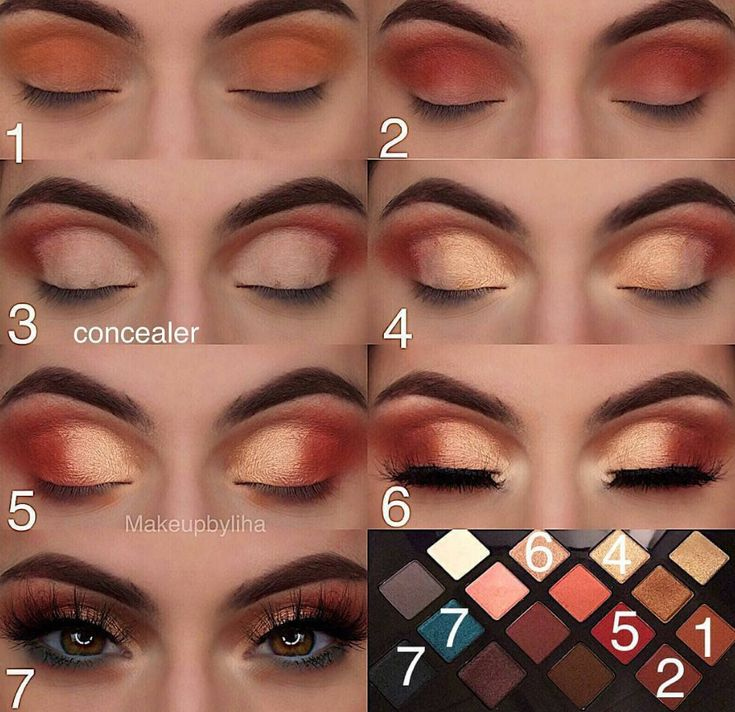 40 Easy Steps Eye Makeup Tutorial For Beginners To Look Great! –