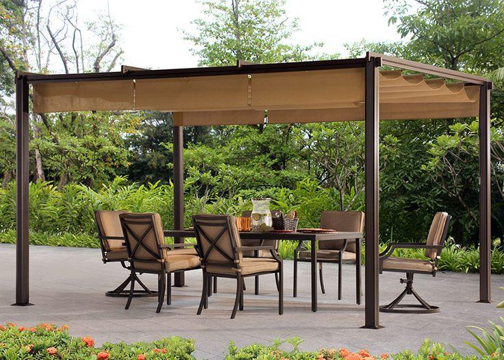 17 best ideas about metal pergola on pinterest modern. Black Bedroom Furniture Sets. Home Design Ideas