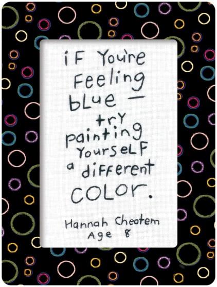 feeling blue- sabias palabras