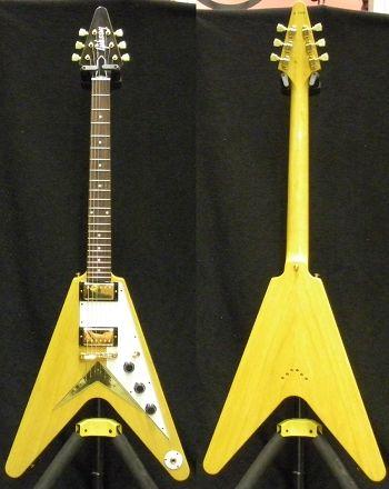 Gibson 1959 korina Flying V