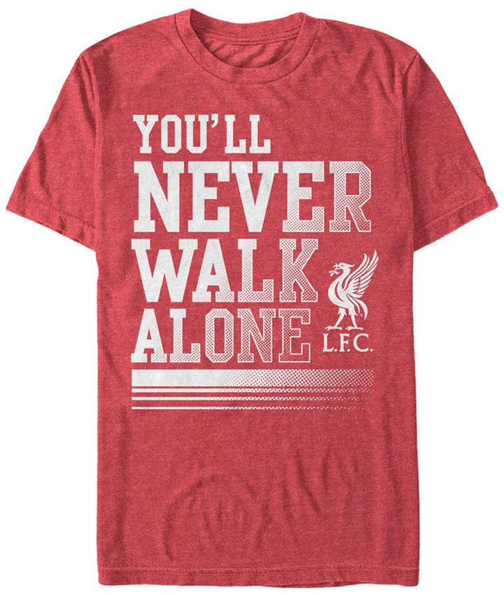 Official Licensed Liverpool F.C Mens T-Shirt YNWA - Large