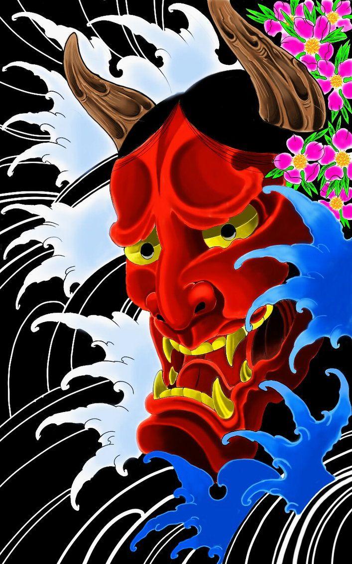 305 Best Hannya Mask Images On Pinterest