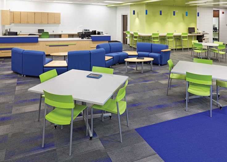 Sioux Center Middle and High School  IA   Demco Interiors  Library  DesignLibrary. 28 best High School Furniture images on Pinterest   School