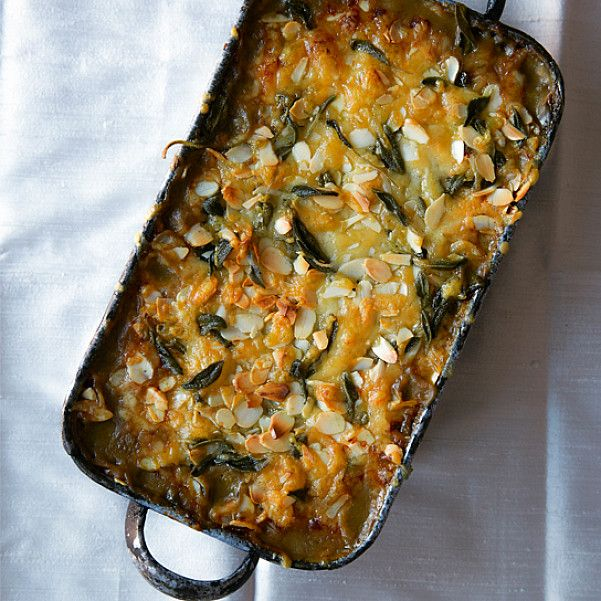 Cheesy Puy Lentil and Squash Bake