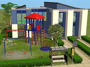 Mod The Sims - Simville Kindergarten and playground