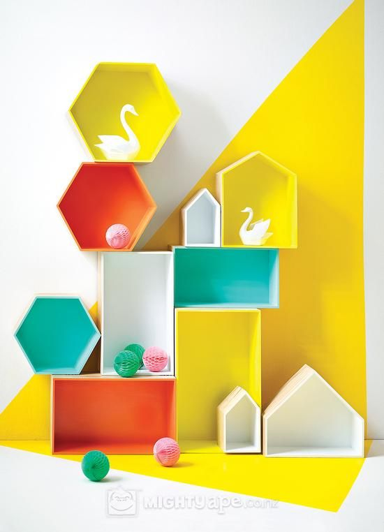 General Eclectic House Display Box Shelves | at Mighty Ape NZ