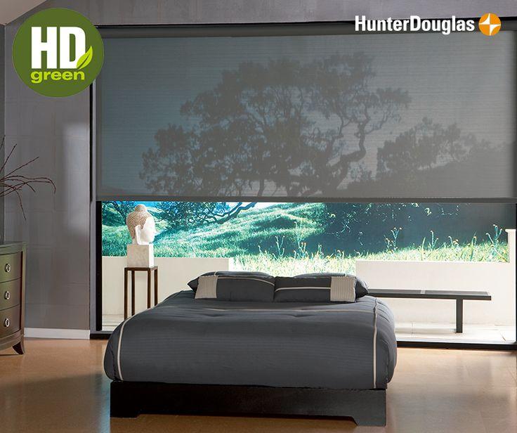 Cuida el medio ambiente como cuidas tu casa. Elige HunterDouglas®  y sus productos con sello HDGreen.