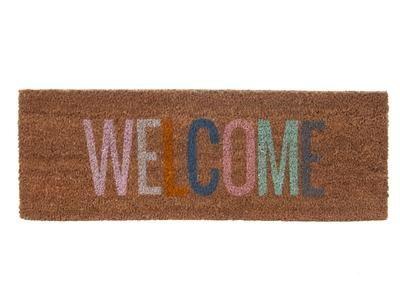 Welcome Doormat Multi