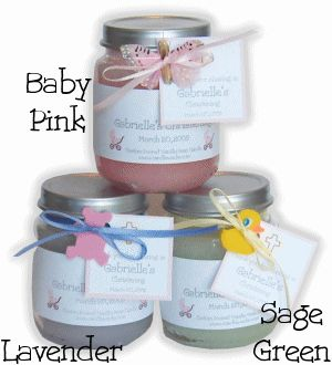 discount cheap baby food jar candle favors baby shower favors