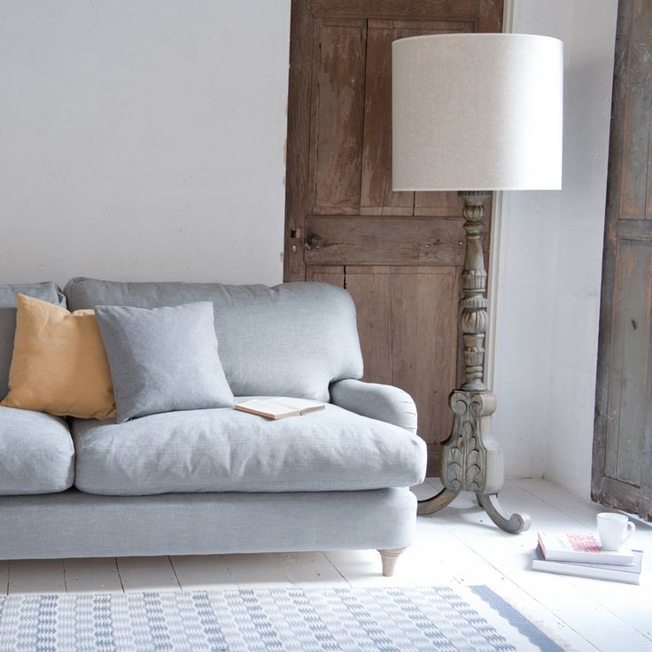 Jonesy sofa in our Mist cotton mix